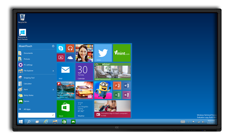 Windows-iBoardTouch