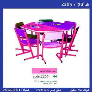 میز و نیمکت مهدکودک